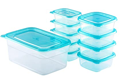Attrayant Chefu0027s Star 20 Piece (10 Containers U0026 10 Lids) BPA Free Reusable  Microwavable