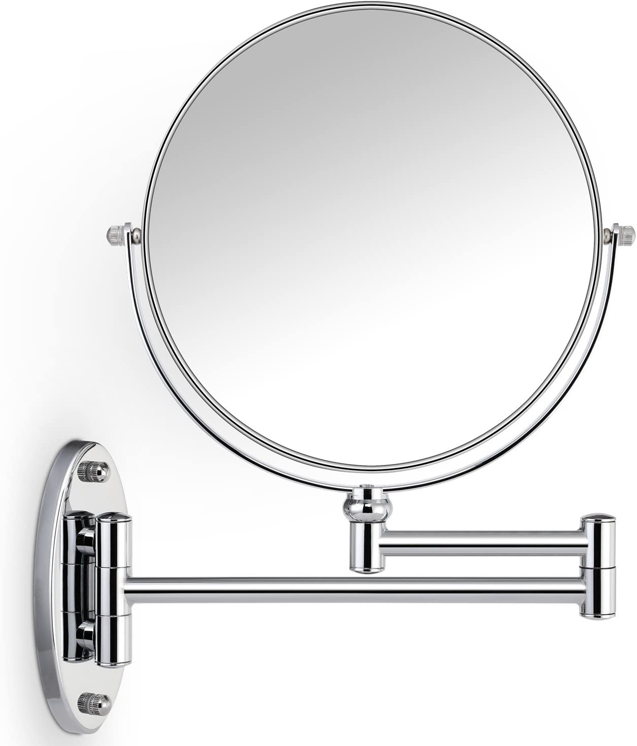 Miusco 7X Non-Lighted Wall Mounted Makeup Mirror Reviews