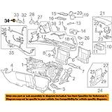 GM 13502516 RETAINER-C/LTR RCPT