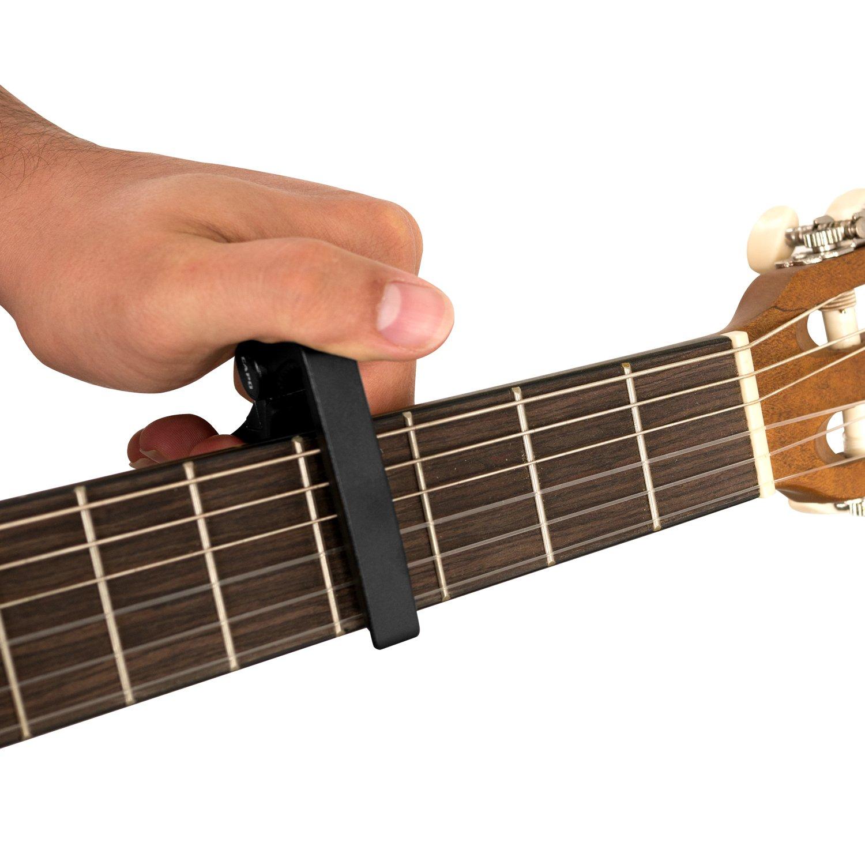 CASCHA HH 2037 - Cejilla para guitarra acústica y eléctrica ...