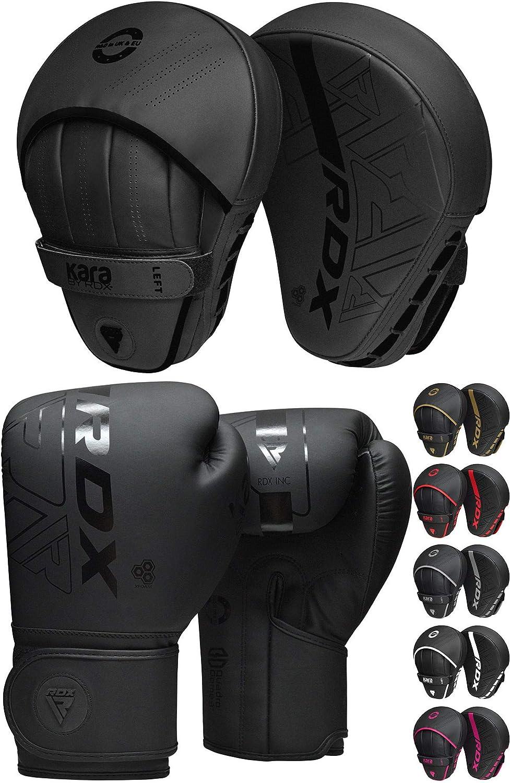 RDX Boxing Gloves Sparring Muay Thai Training Mitt Punch Bag Kickboxing Fighting
