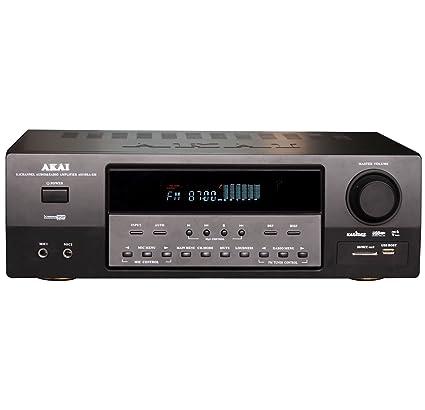 Amplificador Akai as110ra-320 con radio, 5.1, 90 W unidades de 1pz