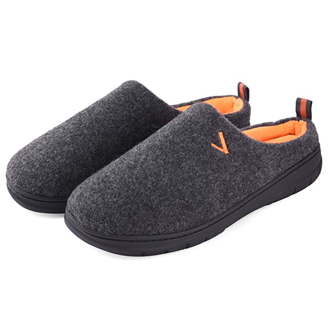 Men's House Slippers Memory Fo