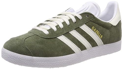 super popular 879a5 0a079 adidas Boys  Gazelle Fitness Shoes, Green (Verde 000), 3.5 UK 3.5