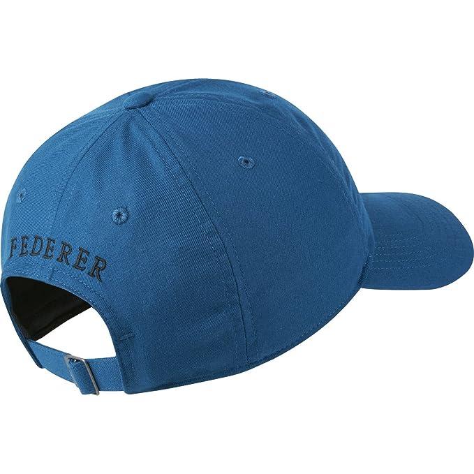 2fc8166e Amazon.com: Nike RF Roger Federer Aerobill H86 Cap (Blue Force/Black):  Sports & Outdoors
