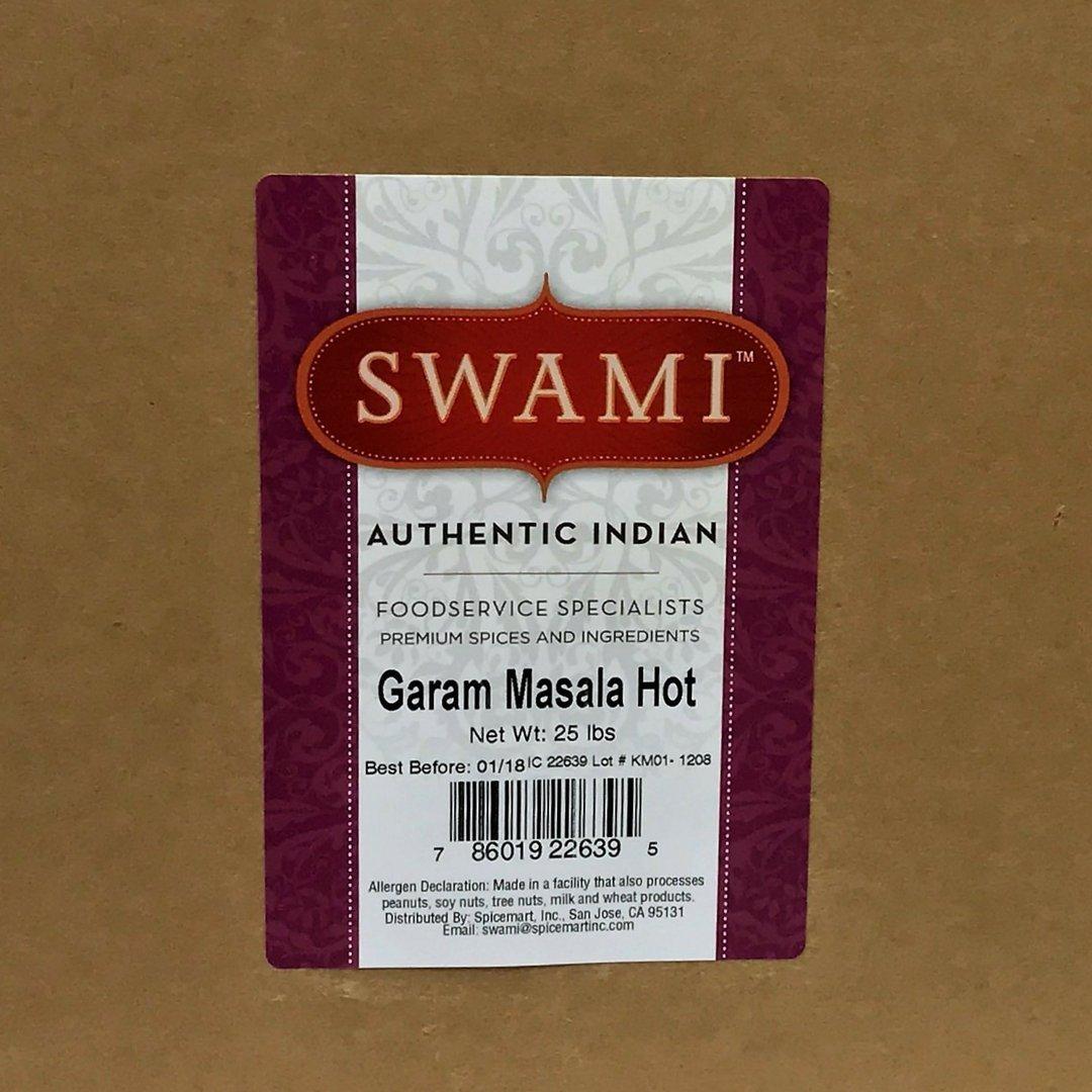 Swami Garam Masala(HOT) 25lb by Spicemart