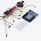 Prototype Kit with 170 Mini Breadboard for ProtoShield +65PCS Male to Male Jumper Wires Kit