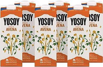 Yosoy Bebida Vegetal de Avena, Caja de 6 x 1L: Amazon.es ...