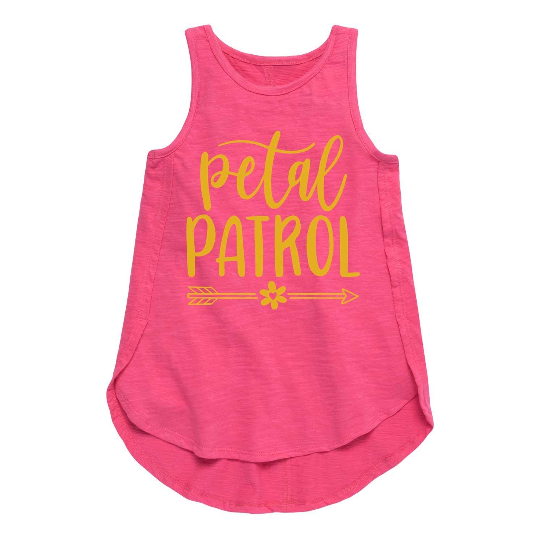 Petal Patrol Sparkle - Toddler Girl Tulip Tunic Air Waves