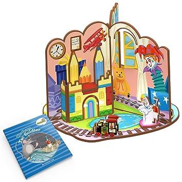 Amazon.es: CubicFun Dollhouse Juguete Fairytale 3D Juego con Storybook (La valentía Lata Soldador): Juguetes y juegos