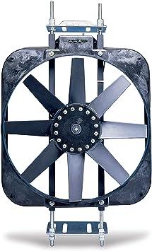 Flex-a-lite 188 Black Magic Xtreme Black 15 Fan