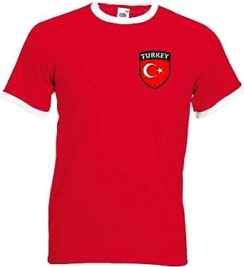Turkey - Camiseta turca de fútbol turco, diseño retro ...
