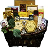 Art of Appreciation Gift Baskets Pick of the Season Gourmet Food Basket with Smoked Salmon (Candy)