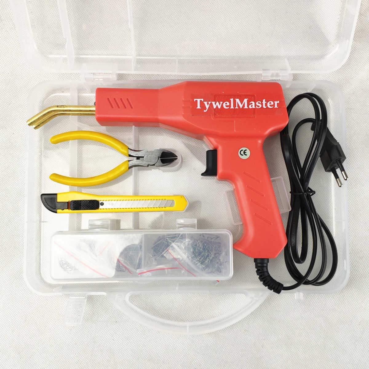 Handy Plastic Welder, Garage Tools Hot Stapler Machine PVC Plastic Repairing Machine Car Bumper Repair Hot Stapler