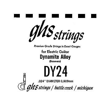 GHS GBDY024 Dynamite Alloy (Boomers) Cuerda Suelta/Guitarra Eléctrica: Amazon.es: Instrumentos musicales