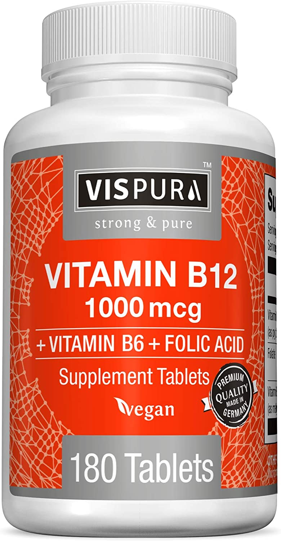 Acid Folic Doppel herz + Complex de Vitamine B, 30 tablete, : BebeTei