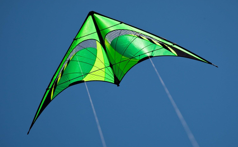 amazon com prism quantum dual line stunt kite citrus sports