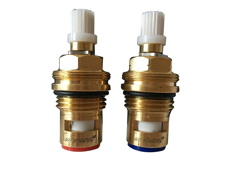 Rolli Shower Cartridge Universal Replacement Ceramic Disc 5 Way Brass Faucet Diverter Mixer Tap D 38mm L 39mm