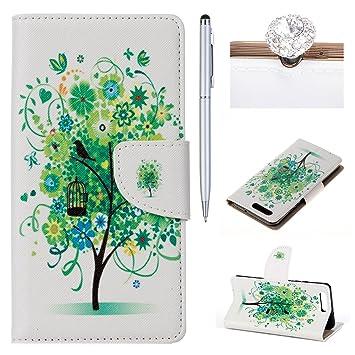 Huawei Y5 II Case,Book Case for Huawei Y5 II,Felfy: Amazon co uk