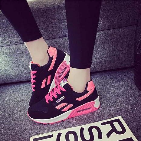 CNBKMG Púrpura Amortiguación Zapatillas De Running para Mujer ...