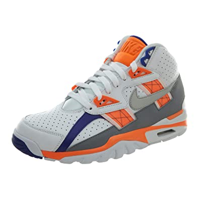 new style ccc23 f3343 Nike 302346-106 Men AIR Trainer SC HIGH White Orange Stealth Royal