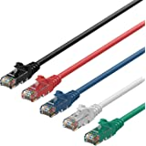 Rankie 5x 4,5m RJ45 Cat6 Cable de red Ethernet (5-Color Combo) - R1300E