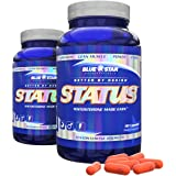 Blue Star Nutraceuticals Status High Quality Natural Testosterone Support Supplement (90 Capsules) (2 Pack)