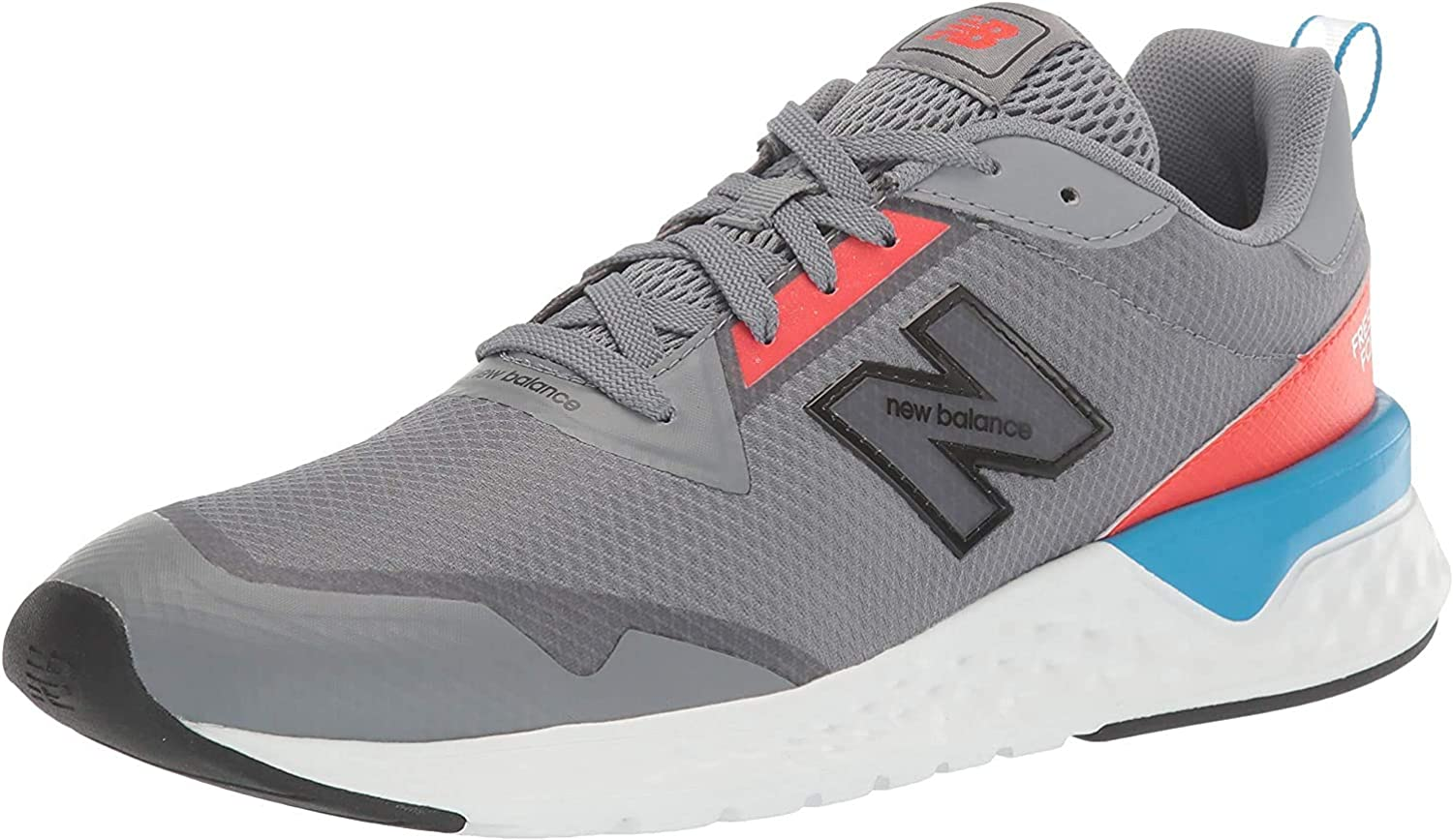 New Balance MS515RB2, Trail Running Shoe Mens, Azul Gris, 32 EU: Amazon.es: Zapatos y complementos
