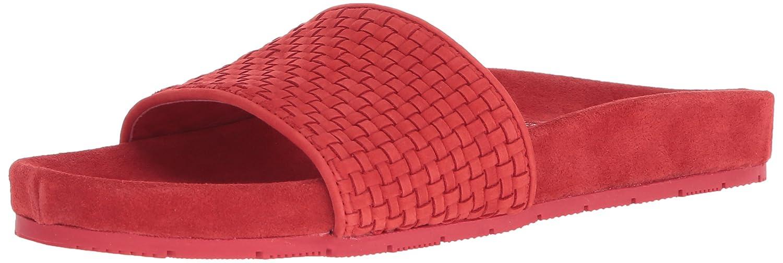 J Slides Women's Naomi Slide Sandal B076DZ2HS5 9 M US|Red