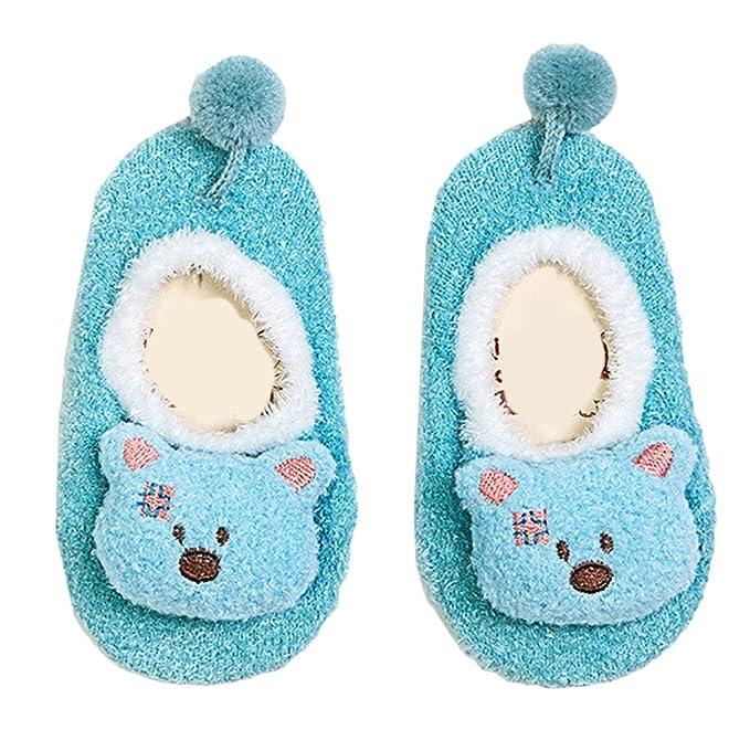 Scothen 3 par 1-5 años de dibujos animados niños bebés niñas unisex  calcetines del 6288673f6d0
