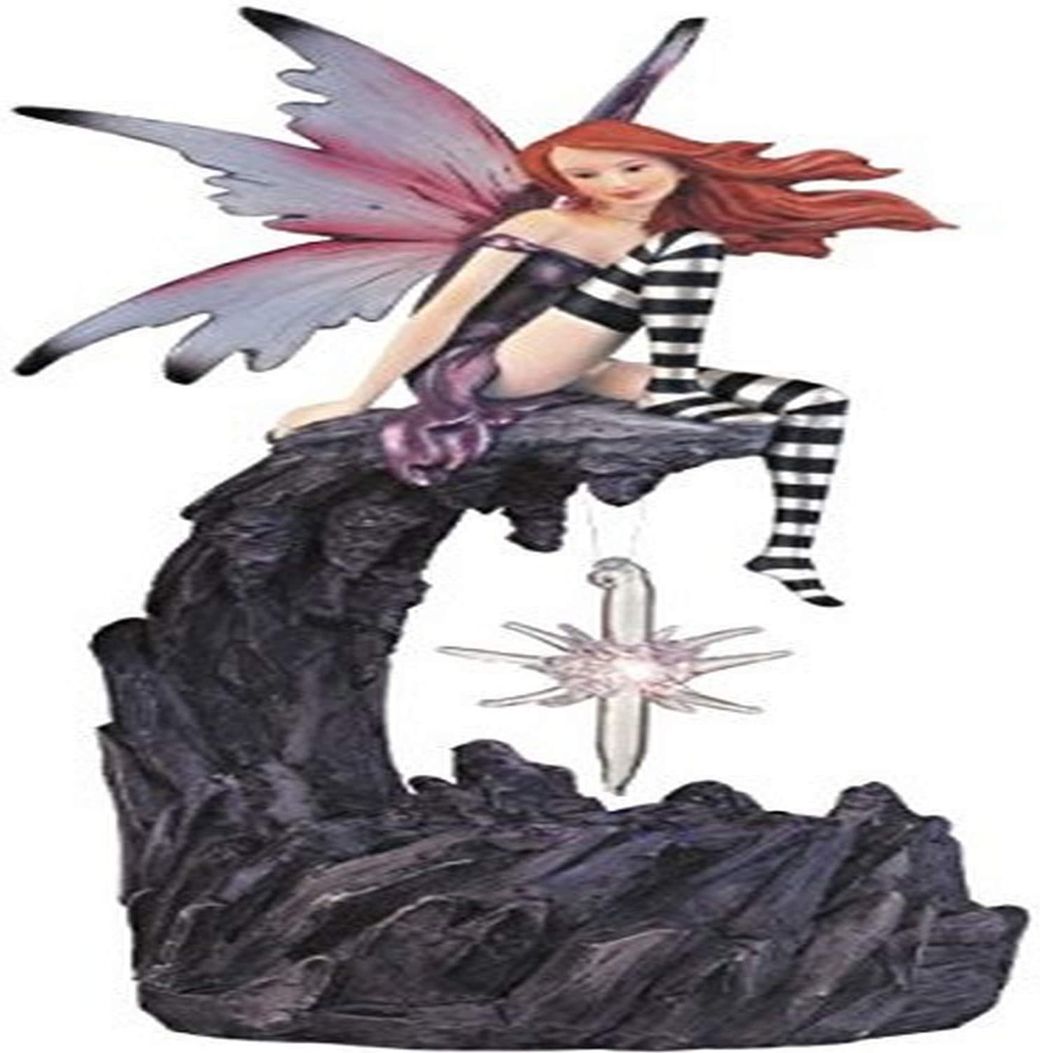 George S. Chen Imports SS-G-91260 Fairy Collection LED Light Star Fantasy Decoration Collectible Figure