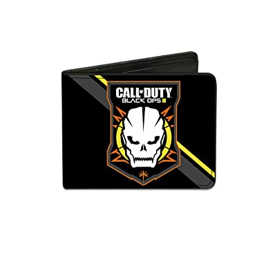 Buckle Down Mens Wallet Call Of Duty Black Ops Iii Skull Icon 2