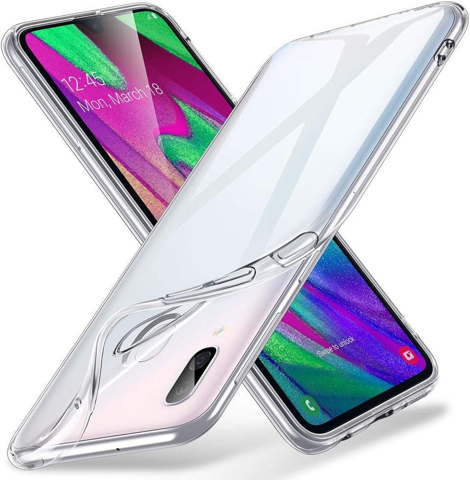ESR Funda Transparente para Samsung A40, Slim de Suave TPU Carcasa ...