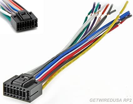16 Pin Wiring Harness - Wiring Diagram Img Harness Diagram Wiring Car Pin Stereo Pioneer Kenwood on