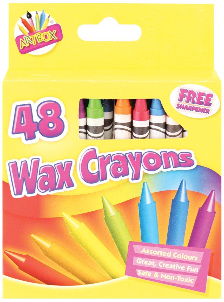 Artbox 48 - Set di colori a cera + temperino, colori assortiti Tallon International Ltd 5082
