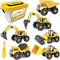 Vehículos de construcción de juguete para niños