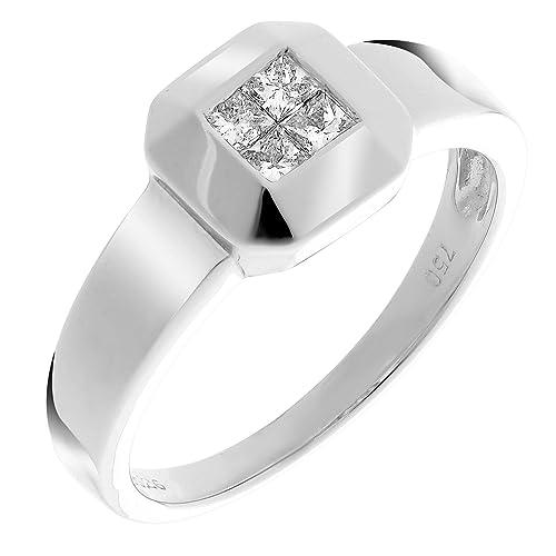 orphelia anello  Orphelia Anello per donna oro 750 4 diamanti 0.26 Carat:  ...