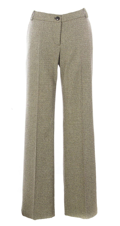 MILA SCHON CONCEPT Women's Wool Dress Pants IT 48 Beige
