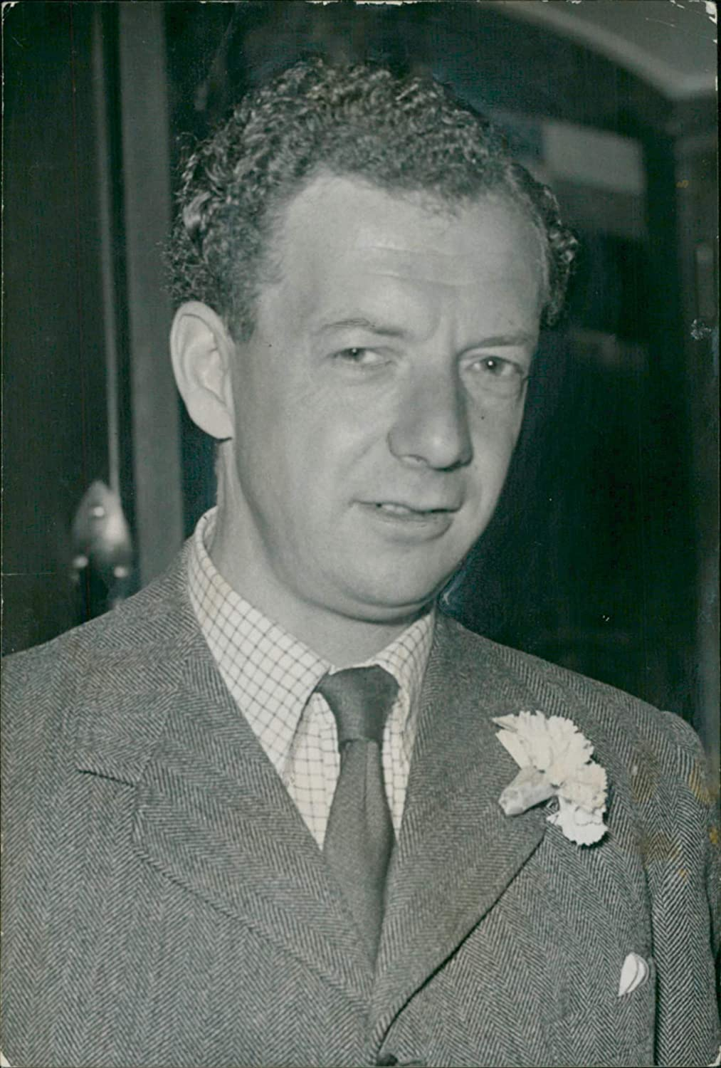 Fotomax Vintage Photo of Benjamin Britten.