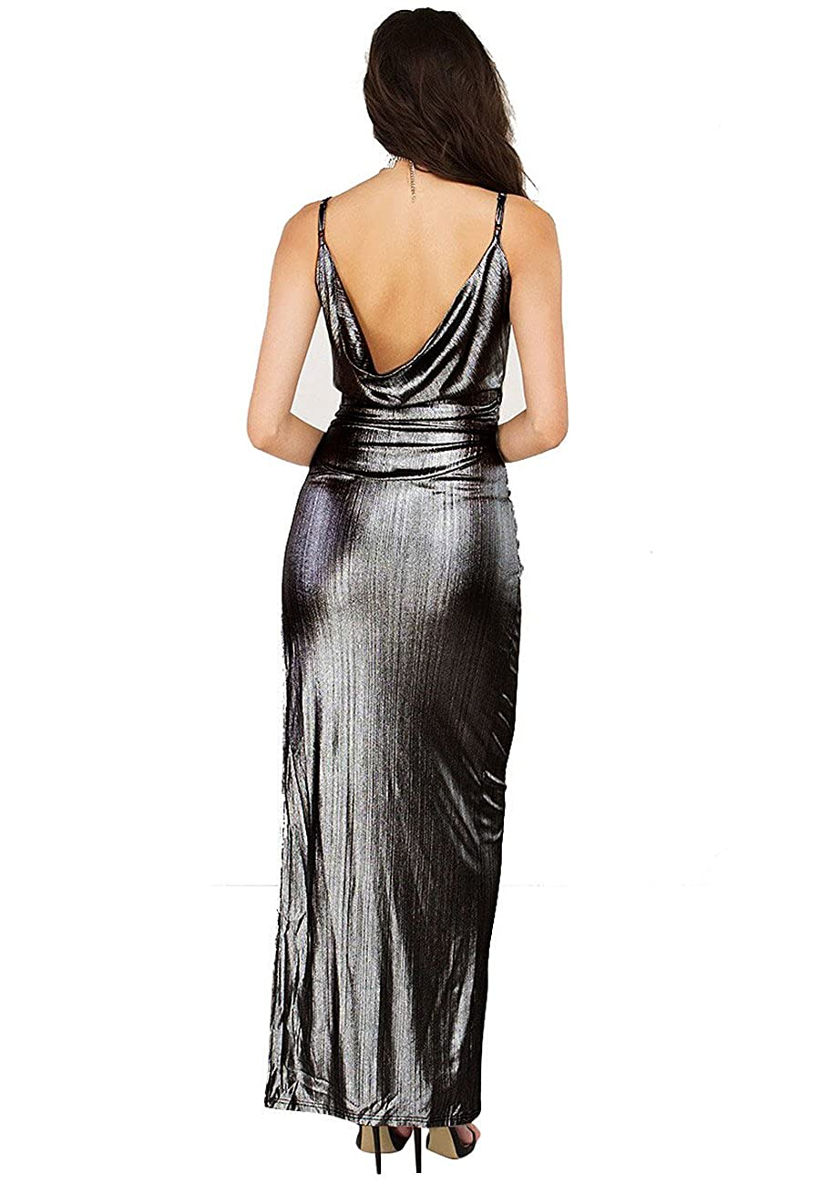 Amazon.com: Naimo Women Glam Shiny Long Prom Banquet Evening Dresses Party Long Gown: Clothing