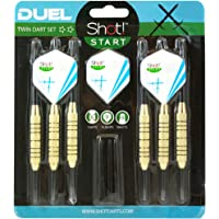 Steel Tip Dart by Shot Darts-Duel Two Player Steel Tip Dart Set- 18gm