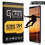 Samsung Galaxy Note 8 Screen Protector,XUZOU Tempered Glass 3D Touch Compatible,9H Hardness,Bubble(1 Pack)