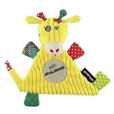 Déglingos - Baby mantita con Operchos la Jirafa, (36720): Juguetes y juegos
