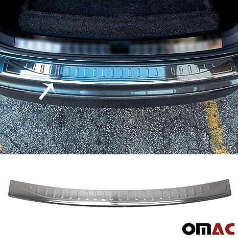 tuning-art L208-EX128 Inoxydable Protection des seuils de Chargement de Coffre et de Porte de Voiture en Acier