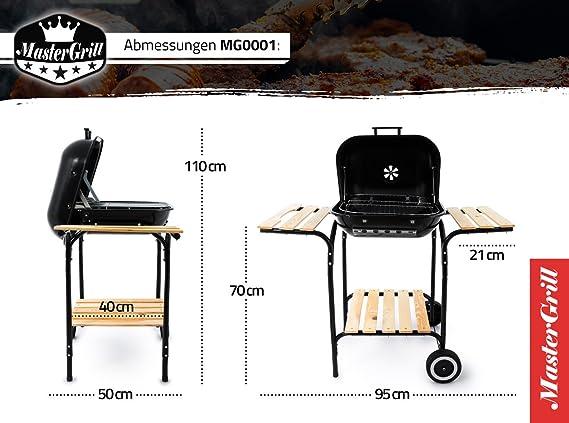 Landmann Holzkohlegrill Corso : Grillwagen grill mg0001 holzkohlegrill kohlegrill gartengrill