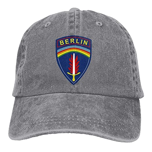 0f481037632 United States Army Berlin Washed Retro Adjustable Cowboy Hat Trucker Cap  For Man And Woman
