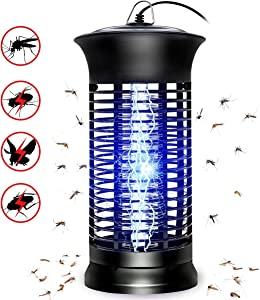 SHCAPENM Bug Zapper Mosquito Killer - Flying Insect Killer Indoor - Fly Traps Mosquito Lamp Insect Zappers Mosquito Attractant Trap with Hook for Indoor Patio Garden