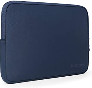 Inateck 14-14.1 Inch Water Repellent Neoprene Laptop Sleeve Protective Case Bag for Laptops/Chromebooks/Notebooks/Ultrabooks - Blue