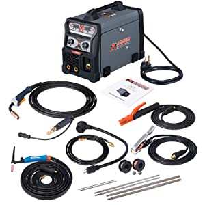 MTS-165, 165-Amp MIG/TIG-Torch/Stick Arc Combo Welder