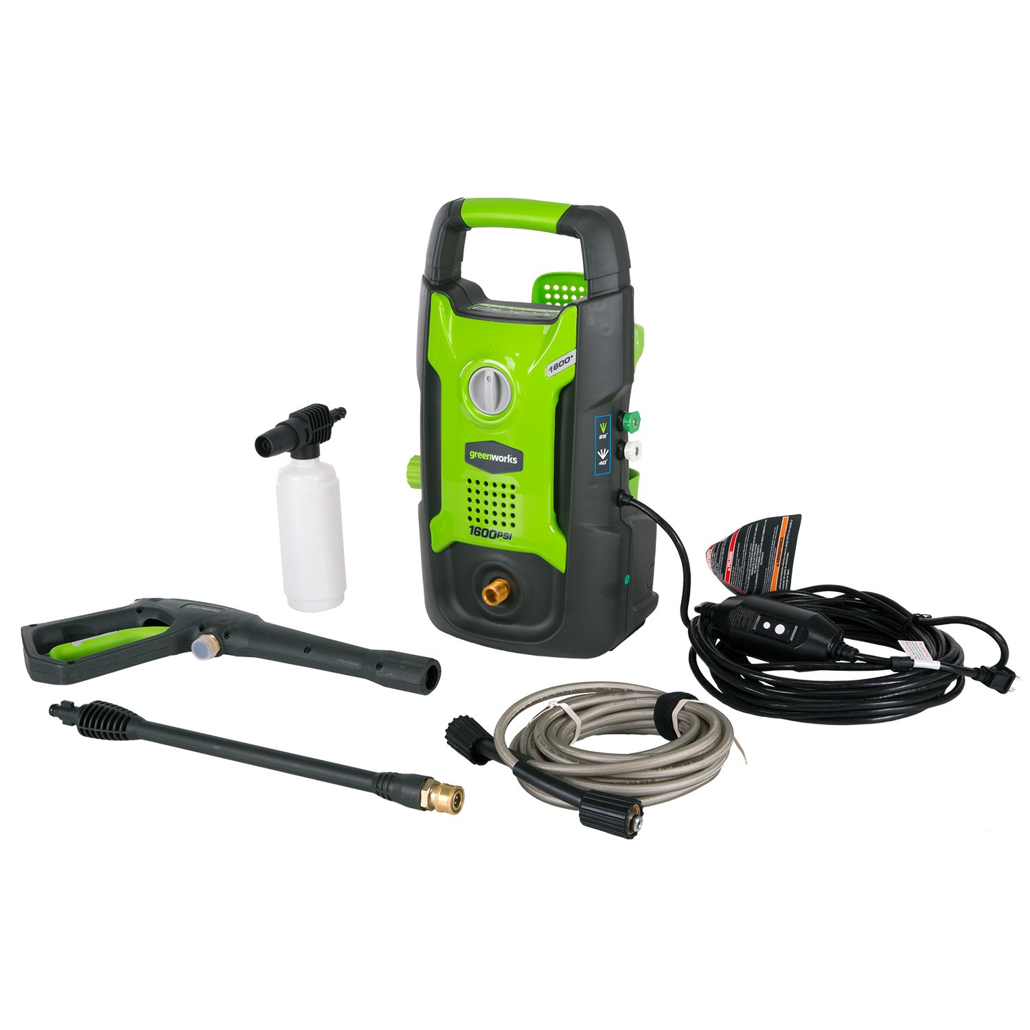 The Best Electric Pressure Washers For Your Garden: Reviews & Buying Guide 16